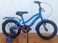 Велосипед детский 16 дюймов VELOX (VELOZ) синий, зеленый, фото 1