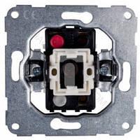 Механізм вимикача 1-тактового (б/гвинт) 10А / 230В