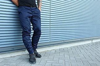 Штаны HLGN, стильные, модные (синие), фото 3
