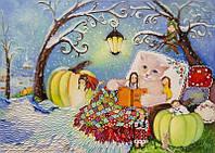 «Чудеса под снегом» картина маслом