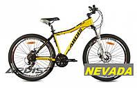 Желтый велосипед Ardis Nevada AL 26 - горный велосипед.  Рама алюминиевая, фото 1