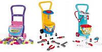 Детские игровые наборы с тележкой Wader