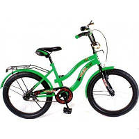 Детский велосипед зеленый Velox 20 дюймов (VELOZ)