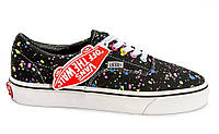 "Кеды Vans Authentic ""Black with Stars"" (Копия ААА+), фото 1"