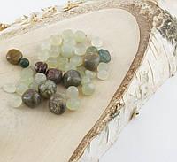 Натуральный камень крошка (Нефрит) (10гр.)