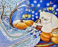 «Сказка от кота» картина маслом
