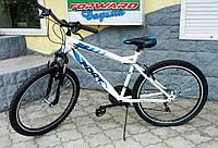"Недорогой велосипед Fort T2  26"" бело-синий"