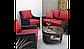 Набор садовой мебели Sumatra 3 Piece Conversation Sofa Set - Chilli Red, фото 4