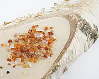 Натуральный камень крошка(Сердолик) (10гр.)