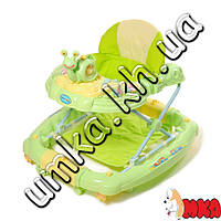 Ходунки Baby Tilly 6221 SY GREEN с улиткой