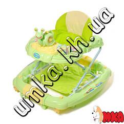 Ходунки Baby Tilly 6221 SY GREEN с улиткой