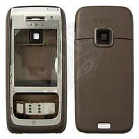 Корпус для Nokia E65 - оригинальный (коричневый)
