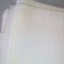 Салфетка белая вафельная для рук, 100 % хлопок.
