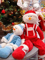 Снеговик мягкая игрушка 100 см, фото 1
