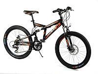 Азимут Динамик 26 дюймов Azimut Dinamic26GD велосипед спортивный, дисковые тормоза двухподвес