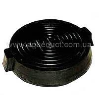 Люк резиновый черный (12,5 т) р. 600/800*