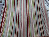 Ткань для штор и обивки мебель в полоску испания