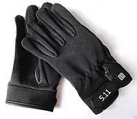 Тактические перчатки 5.11 (реплика), черные M