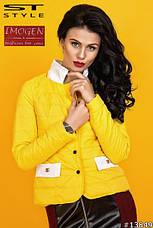 Куртка-жакет с воротником-стойкой , фото 3