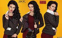 Куртка-жакет с воротником-стойкой , фото 2
