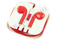 Наушники Apple iPhone 5 Красные