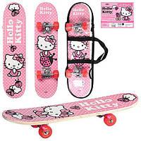 Скейтборд HK 0052 Hello Kitty