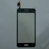 Сенсорный экран для телефона Samsung G531 Galaxy Grand Prime VE Duos черный ORG