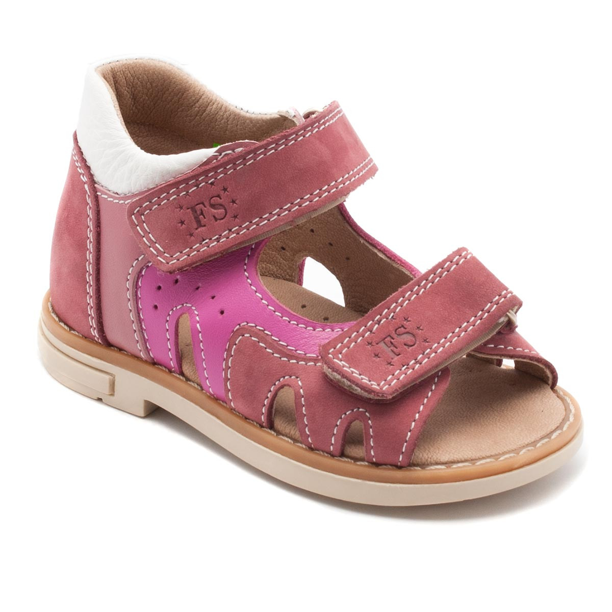 Розовые ортопедические босоножки FS Сollection для девочки, размер 20-28