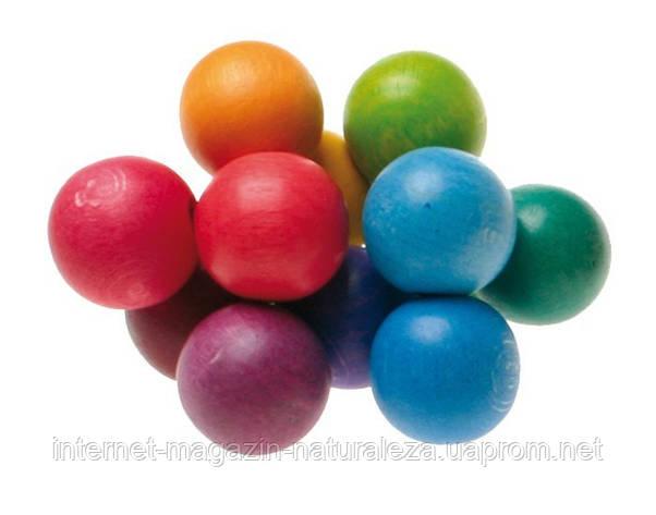 Погремушка - грызунок Grimms Разноцветные шарики, фото 2