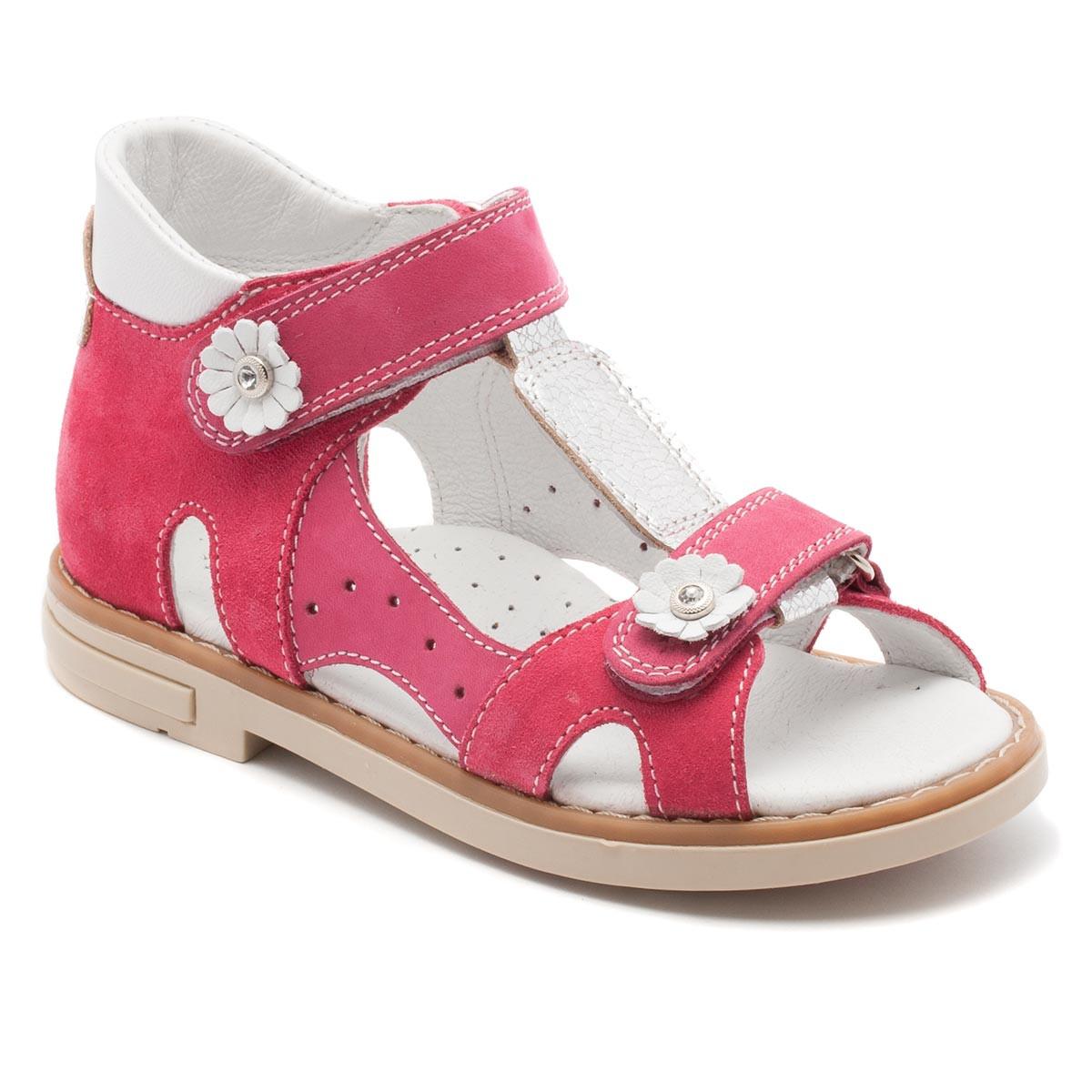 Розовые ортопедические босоножки FS Сollection для девочки, розовые, размер 20-30
