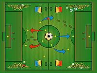 Ковер детский Футбольное поле, Белоруссь
