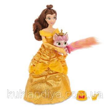 Кукла принцесса Белль с питомцем от Дисней