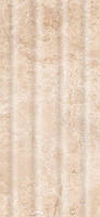 Плитка настенная InterCerama Emperador 23 x 50 рельеф светло-коричневый 031-P