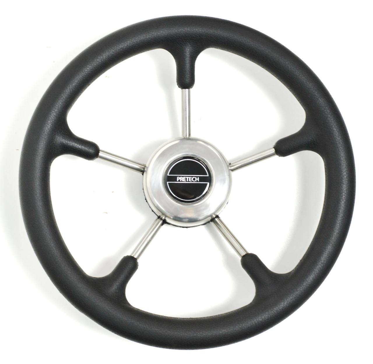 Рулевое колесо Pretech нержавейка 32 см