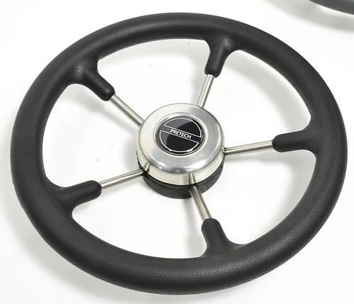 Рулевое колесо Pretech нержавейка 32 см, фото 2