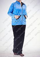 Батальный спортивный костюм велюровый