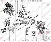 Турбина (компрессор, наддув, турбонагнетатель) Renault Trafic (2000-2014) 7701472228 GARRETT 751768-5004S