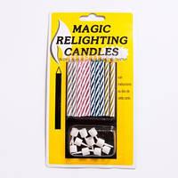 Свечи для торта  не гаснущие (10 шт)