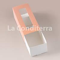 Картонные коробки для печенья, цветные (141х59х49 мм)
