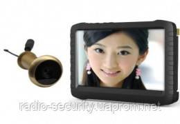 Беспроводной видеоглазок с монитором и записью на карту памяти Protect TE9