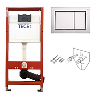Комплект TECEbase kit 4 в 1 для подвесного унитаза