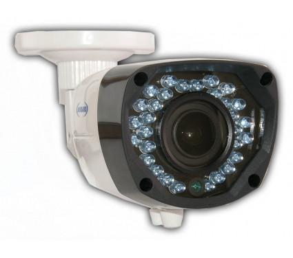 Мультистандартная   видеокамера 4 в 1 (AHD, CVI, TVI, аналог) LUXcam MHD-LBA-H720/2,8-12.