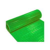 Шифер в рулонах волновой прозрачный зеленый
