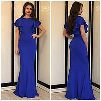Женское Длинное Платье ПОШИВ на заказ Р.40-54 *Разные Цвета*