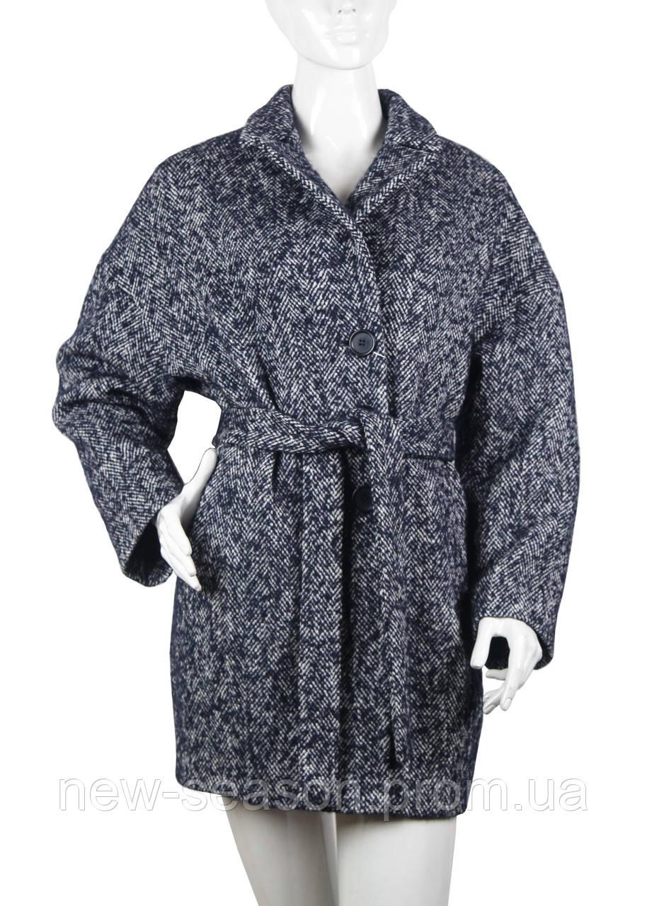 Пальто женское демисезонное шерстяное 204-20731