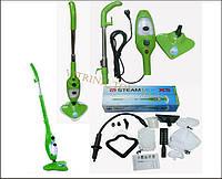 Паровая швабра H2O mop X5 (зеленая паровая швабра)