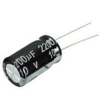 Конденсатор электролит. 2200uF 10V 10*17