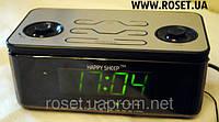 Настольные часы-будильник со встроенным радио-проигрывателем Happy Sheep YJ-8118