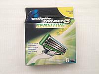 Сменные картриджи для бритья Gillette Mach3 Sensitive(8)