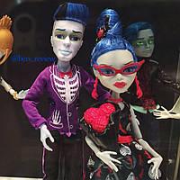 Набір ляльок Монстер Хай Гулія Йелпс і Слоу Мо Любов не вмирає, фото 1